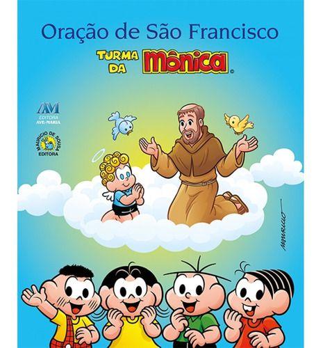 Livro Oração De São Francisco Turma Da Mônica
