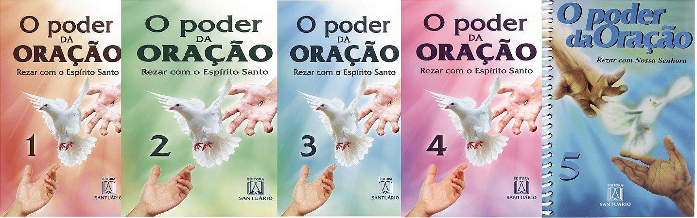 Kit 5 Livros O Poder da Oração - Volumes 1,2,3,4,5