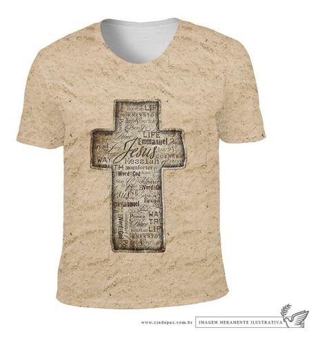 Camiseta Cruz Sagrada