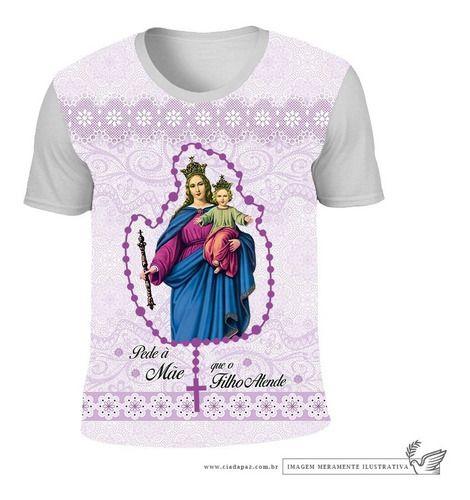 Camiseta Nossa Senhora Auxiliadora