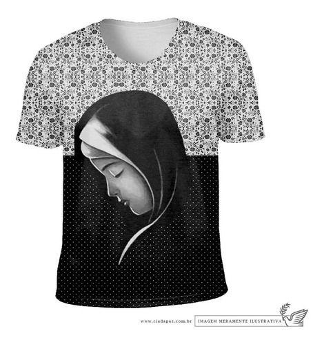 Camiseta Virgem Do Silêncio