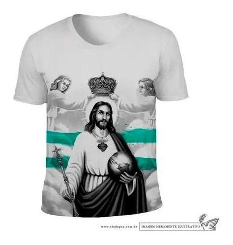 Camiseta Cristo Rei