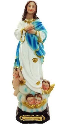 Imagem Nossa Senhora da Imaculada Conceição 30 CM - Resina