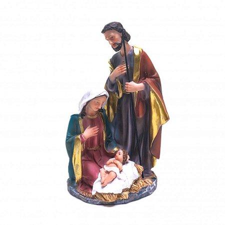 Imagem Sagrada Família 21 CM - Resina Importada