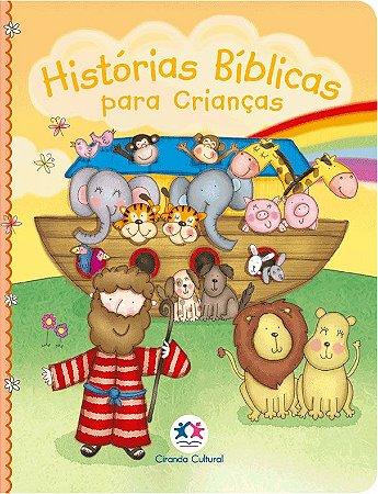 Histórias Bíblicas para Crianças - Capa Almofadada