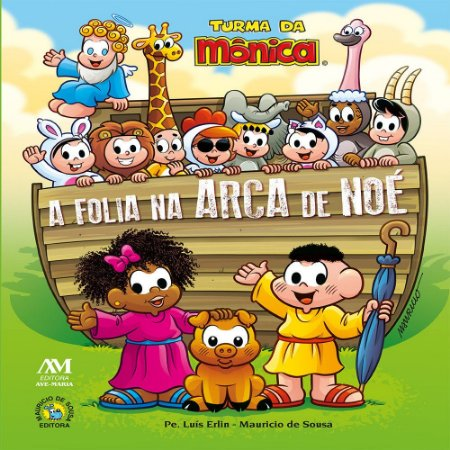Livro A Folia na Arca de Noé - Turma da Mônica
