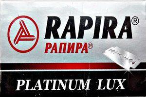 Lâmina de Barbear Rapira Platinum Lux