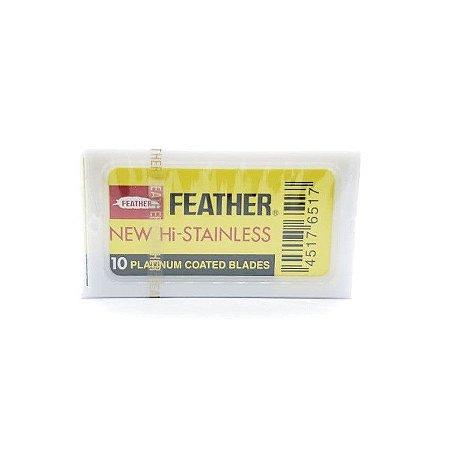 Lâmina de Barbear Feather Platinum