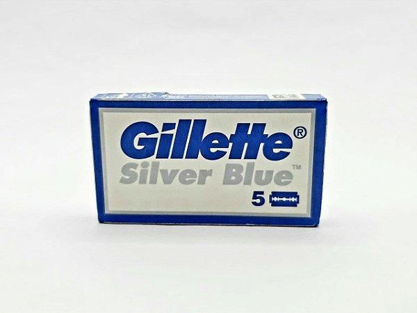 Lâmina de Barbear Gillette Silver Blue