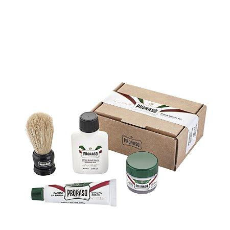 Kit de Barbear para Viagem Proraso