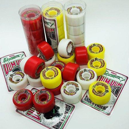 Rodas de Skate Anarquia Dum-Dum 60mm Relançamento