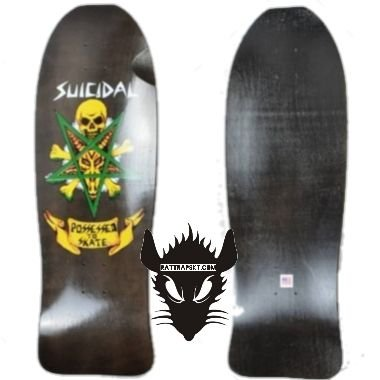 SHAPE OLD SCHOOL DOGTOWN SUICIDAL POSSESSED TO SKATE MARROM