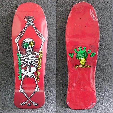 Shape Old School Vision Tom Groholski Skeleton Reissue Vermelho