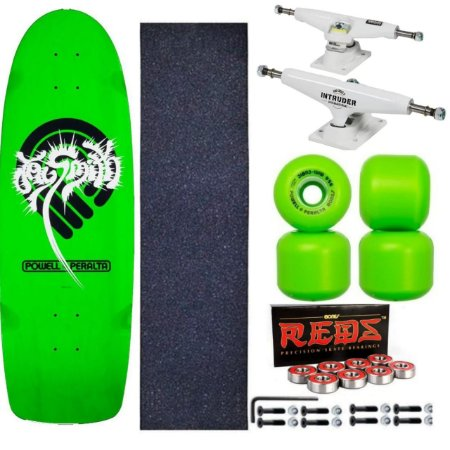 Skate Completo Old School Powell Peralta Jay Smith Verde