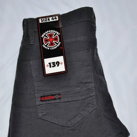 Calça Jeans INDEPENDENT cor Chumbo