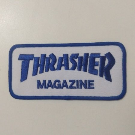 Patch Bordado Importado Thrasher Magazine Thrasher Skateboard