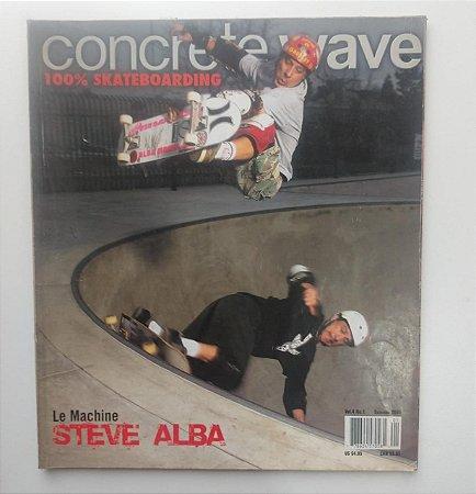 Concrete Wave Volume 4 number 1 ano 2005 Capa Steve Alba