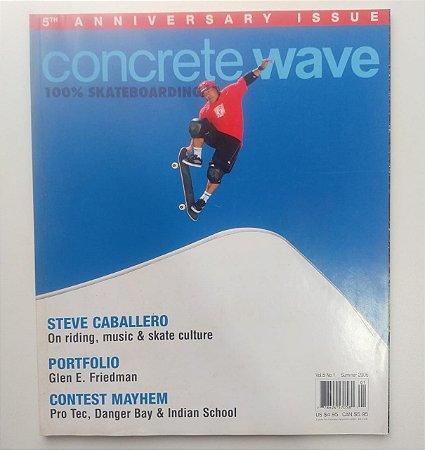Concrete Wave Volume 5 number 1 ano 2006 Capa Steve Caballero