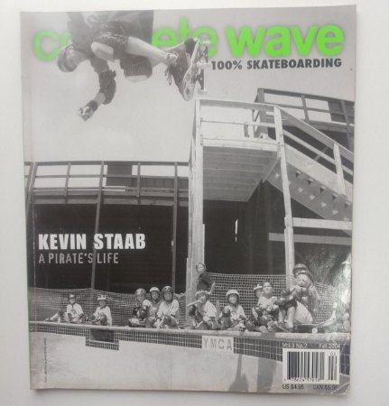 Concrete Wave Volume 3 number 2 ano 2004 Capa Kevin Staab