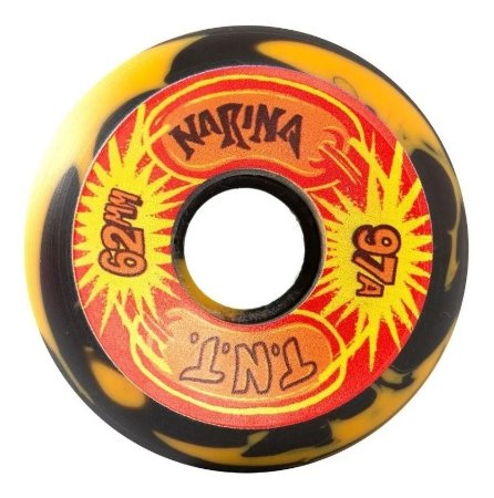 Rodas de Skate Narina Série Animal Tnt 62mm 97A