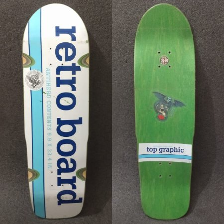 Shape Old School Anti Hero Retroboard com lixa transparente SEMI NOVO