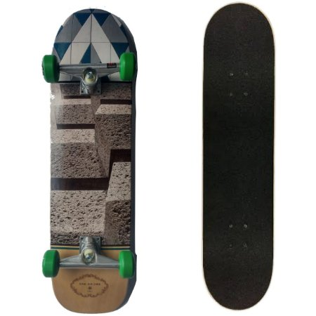 SKATE MONTADO COM SHAPE MAPLE ONE SIX ONE