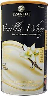 VANILLA WHEY ESSENTIAL NUTRITION LATA 900G