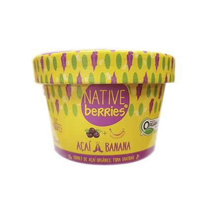 ACAI ORGANICO COM BANANA 200G NATIVE BERRIES