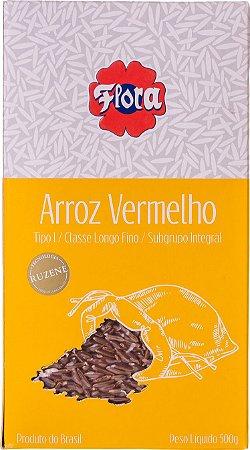 ARROZ VERMELHO FLORA TIPO 1 1KG