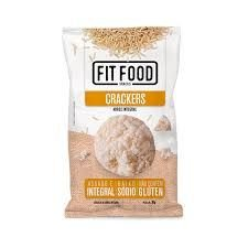 CRACKER ARROZ INTEGRAL FITFOOD 30G