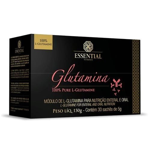 GLUTAMINA ESSENTIAL NUTRITION CX 150G