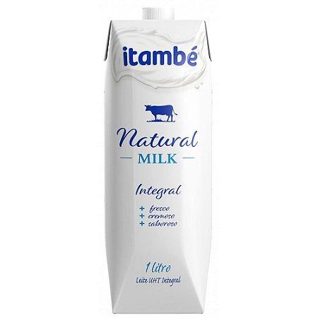 LEITE UHT NATURAL MILK ITAMBE 1L