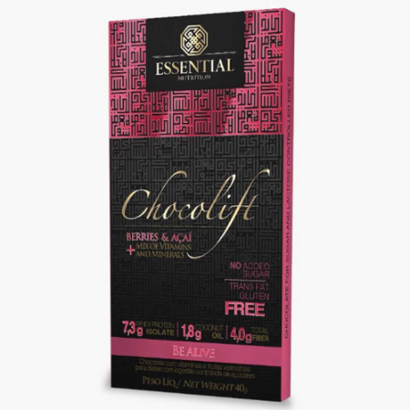 CHOCOLIFT ESSENTIAL NUTRITON BERRIES E ACAI 40G