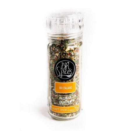 MIX BR SPICES ITALIANO COM MOEDOR 70G