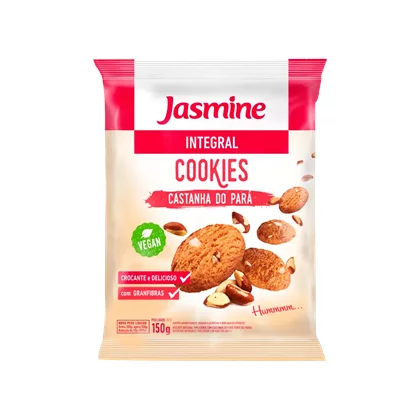COOKIES CASTANHA DO PARA 150G JASMINE
