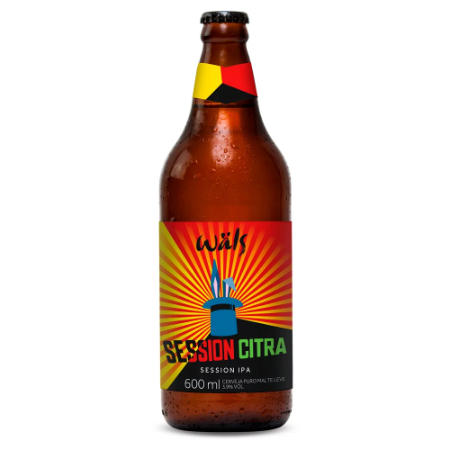 CERVEJA SESSION CITRA WALS 600ML