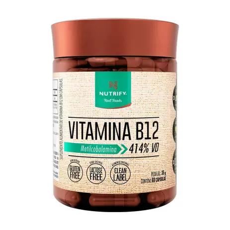 VITAMINA B12 NUTRIFY 36G 60CAPS