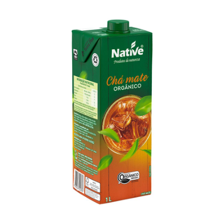 CHA MATE ORGANICO NATIVE 1L
