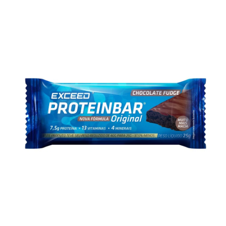 PROTEINBAR EXCEED ORIGINAL CHOCOLATE FUDGE 25G