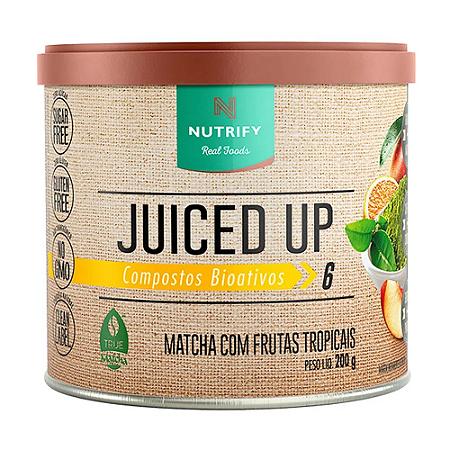 JUICED UP MATCHA FRUTAS TROPICAIS NUTRIFY 200G