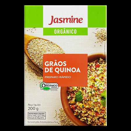 QUINOA EM GRAOS ORGANICA 250GR JASMINE