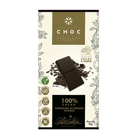CHOCOLATE 100 CACAU CHOC 80G