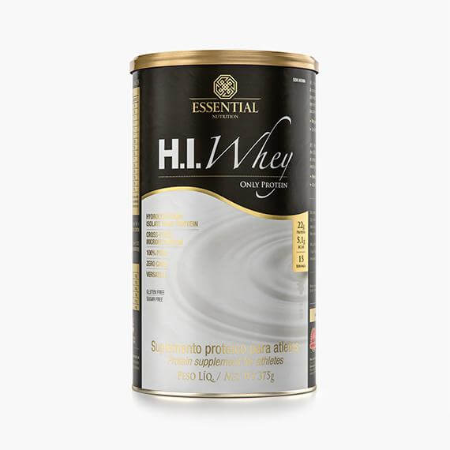 HI WHEY ESSENTIAL NUTRITION ONLY PROTEIN LATA 375G