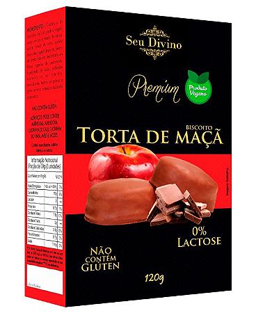 BISCOITO TORTA DE MACA S LACT SEU DIVINO 120G