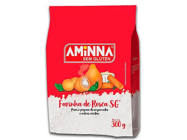 FARINHA AMINNA DE ROSCA SEM GLUTEN SEM LACT 300G