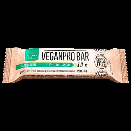 VEGANPRO BAR BAUNILHA NUTRIFY FOODS 40G