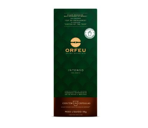CAFE INTENSO ORFEU 10CAPS