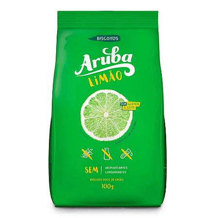 BISCOITO ARUBA LIMAO 100G