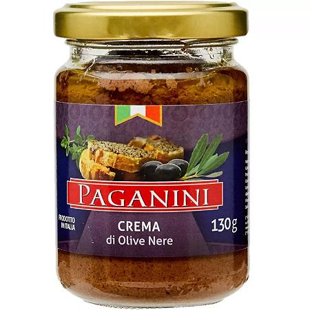 PATE ITALIANO PAGANINI CREME AZEITONA PRETA 130G