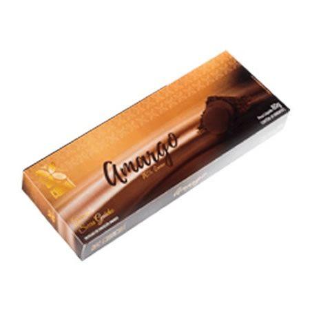 Caixa de chocolate pastilha 70% amargo - 80G
